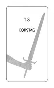 18 KORSTÅG