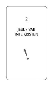 2 Jesus var inte kristen